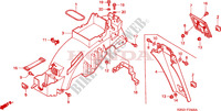REAR FENDER Frame 125 honda-motorcycle NSR 1997 F__2500