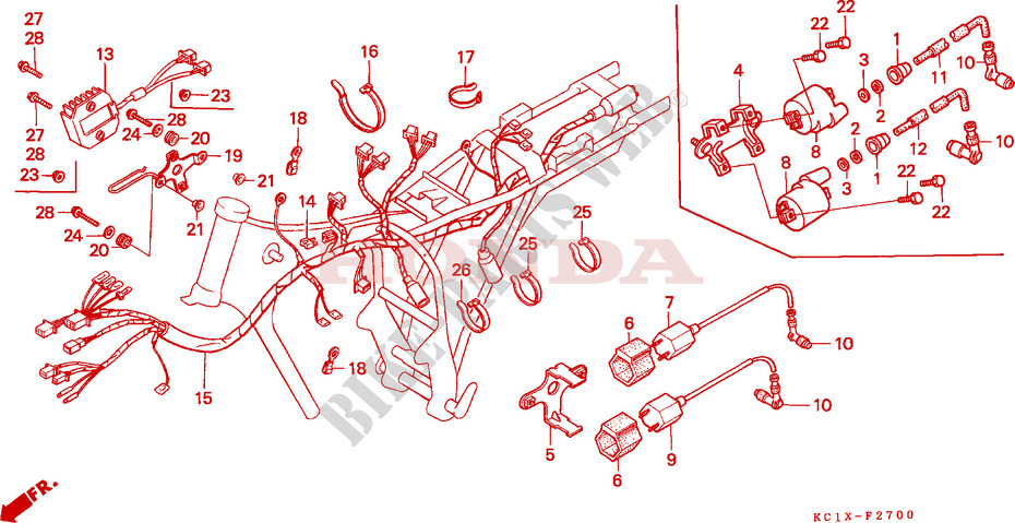 honda cb125 wiring diagram - Wiring Diagram