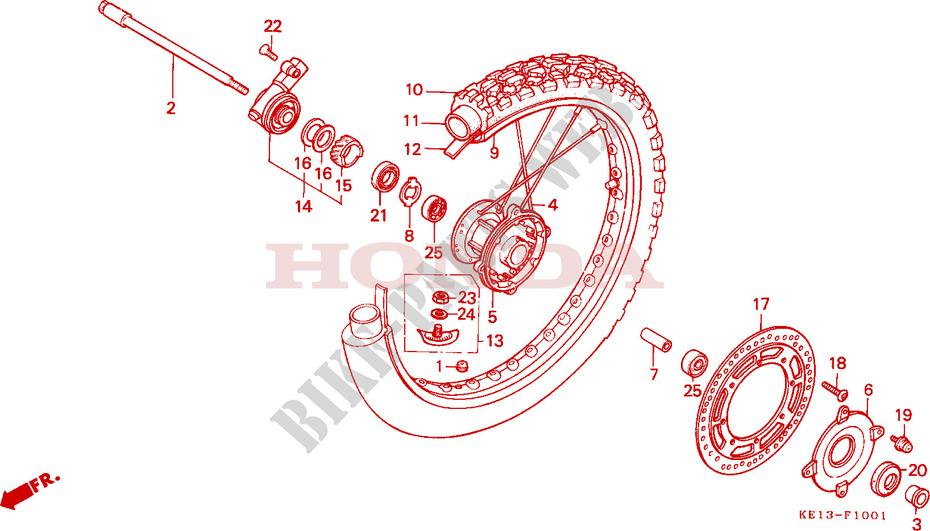 1987 Honda MTX 125 RWH - Spark Plug Cap 125 CC Disc