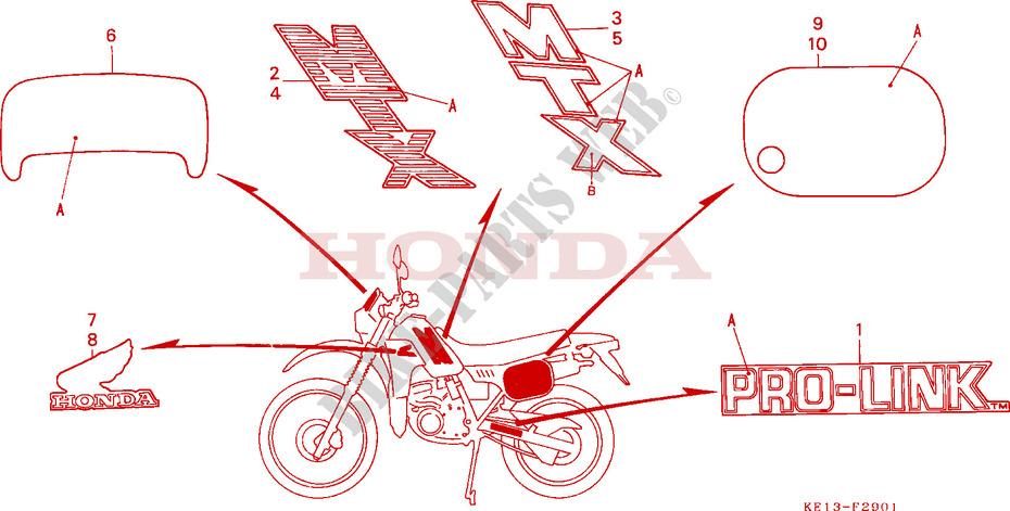 125 CC HONDA MTX 125 1985 IGNITION COIL