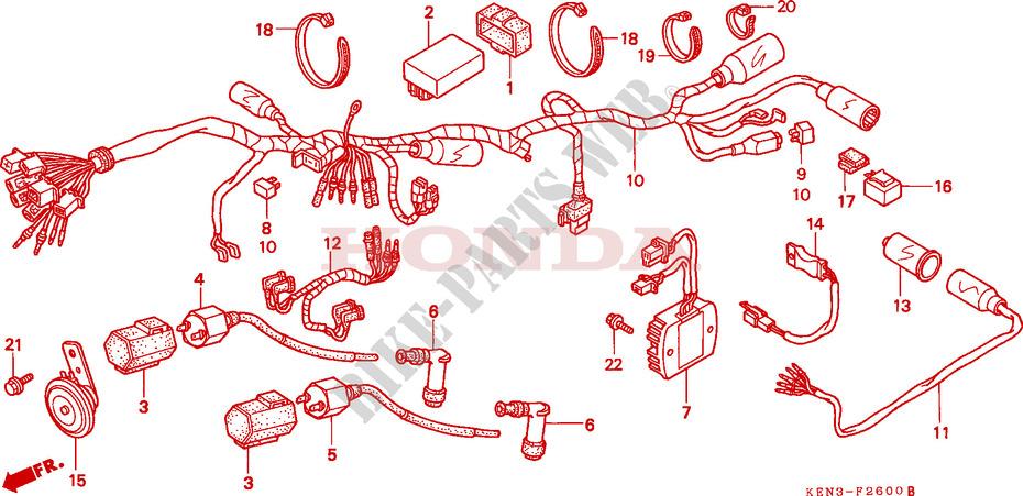 Wiring Diagram For 2002 Honda Rebel