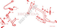 STAND Frame 250 honda-motorcycle FORSIGHT 1998 F__2200