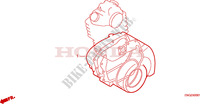 GASKET KIT B Honda motorcycle microfiche diagram CLR125W 1998 CITY FLY 125 CLR