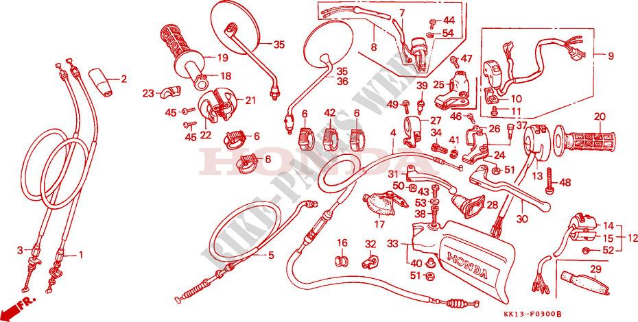 Honda XR 250 RL 1990 Spark Plug Cap 250 CC
