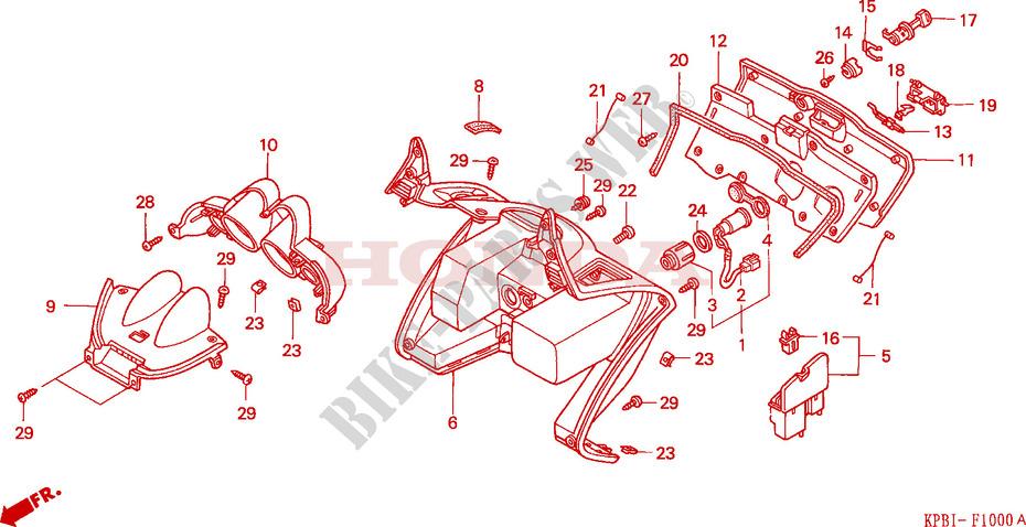 Leg Shield For Honda Jazz 250 2004   Honda Motorcycles