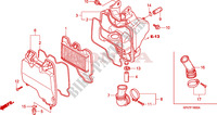 AIR CLEANER Frame 125 honda-motorcycle INNOVA 2007 F__1600