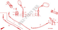 CABLE   MIRROR for Honda INNOVA 125 2007