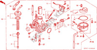 CARBURETOR Engine 125 honda-motorcycle INNOVA 2005 E__1800