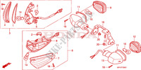 INDICATOR (2) for Honda INNOVA 125 2007