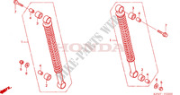 REAR SHOCK ABSORBER for Honda INNOVA 125 2005