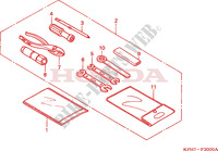 TOOLS for Honda INNOVA 125 2006
