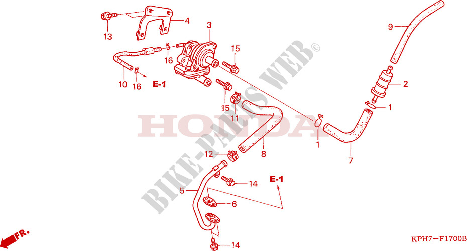 Air Filter Valve For Honda Innova 125 2003   Honda