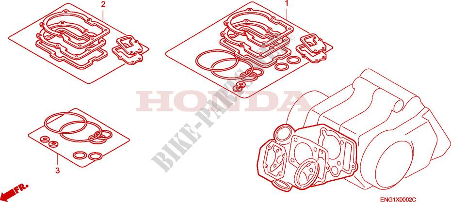 Gasket Kit A For Honda Innova 125 2003   Honda Motorcycles