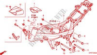 FRAME for Honda CBR 125 2006