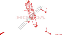 REAR SHOCK ABSORBER for Honda CBR 125 2006