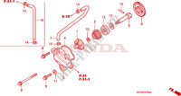 WATER PUMP Engine 125 honda-motorcycle CBR 2004 E__0700