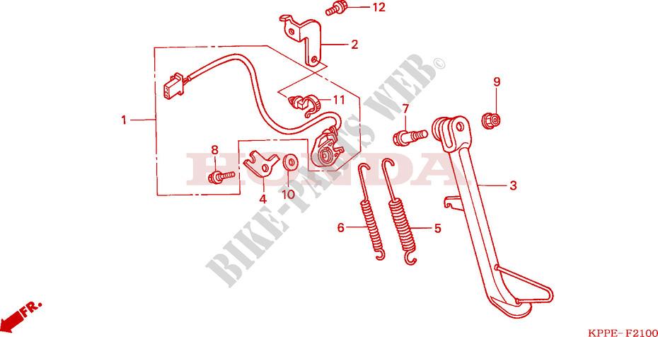 Honda Motorcycles Parts Catalog Uk