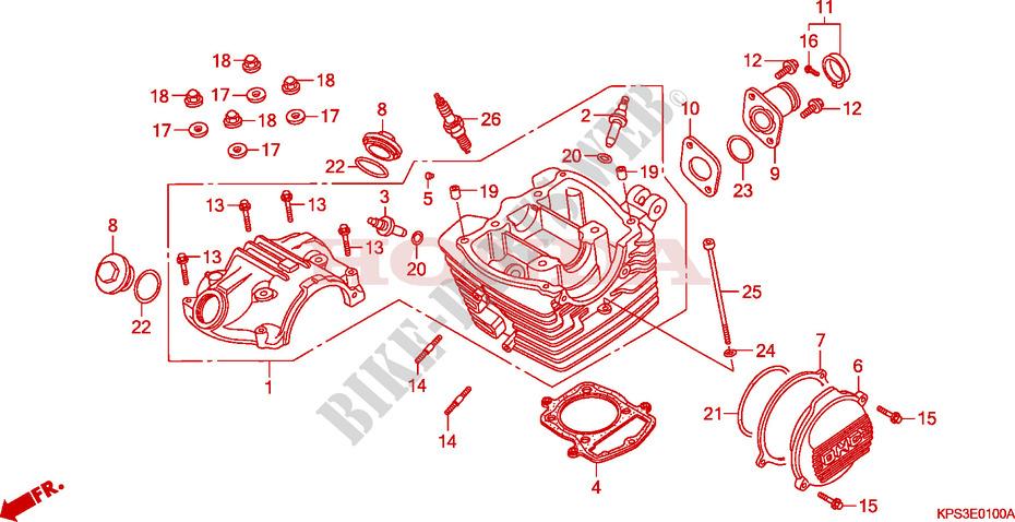 diagram of engine parts 2006 honda crf230f wiring circuit \u2022 2006 accord belt diagram cylinder head cover cylinder head engine crf230f3 2003 crf 230 moto rh bike parts honda com honda civic engine diagram odyssey engine diagram