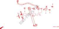 STAND Frame 125 honda-motorcycle XR 2006 F__2000