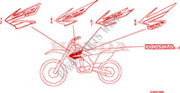 MARK (CRF250R4/5/6/7) Frame 250 honda-motorcycle CRF 2004 F__2600