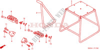 STAND/STEP Frame 250 honda-motorcycle CRF 2004 F__1700