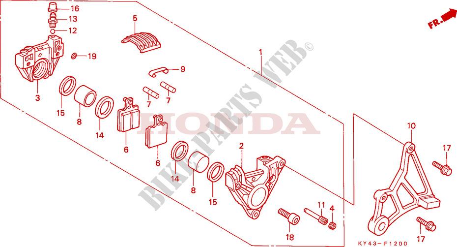 125 CC Honda NSR 125 FM 1991 Spark Plug Cap