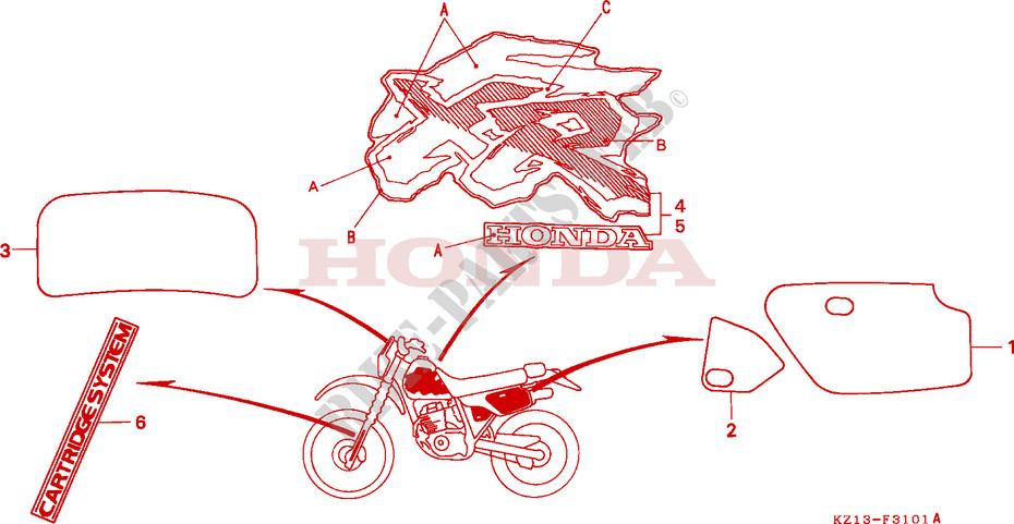 Honda Motorcycles Oem Parts Canada