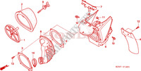 AIR CLEANER (CR250R5-7) Frame 250 honda-motorcycle CR 2006 F__1401