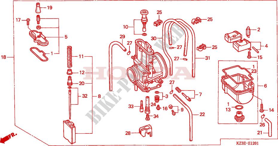 Honda OEM Part 16137-KZ4-A92