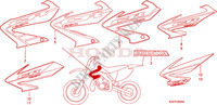 MARK Frame 125 honda-motorcycle CR 2007 F__2500