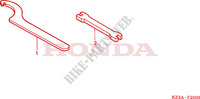 TOOLS Frame 125 honda-motorcycle CR 2007 F__2300