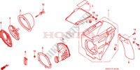 AIR CLEANER (CR125RP/RR/RS/RT/RV) Frame 125 honda-motorcycle CR 1997 F__1402