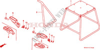 STAND/STEP Frame 125 honda-motorcycle CR 1997 F__1700
