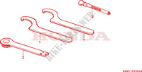 TOOLS Frame 125 honda-motorcycle CR 1997 F__2300