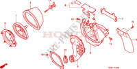 AIR CLEANER Frame 125 honda-motorcycle CR 2001 F__1400