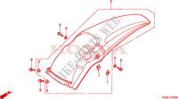 REAR FENDER Frame 125 honda-motorcycle CR 2001 F__2000