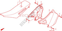 SEAT/SIDE COVER Frame 125 honda-motorcycle CR 2001 F__1300