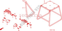 STAND/STEP Frame 125 honda-motorcycle CR 2001 F__1700