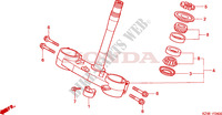 STEERING STEM Frame 125 honda-motorcycle CR 2001 F__0400