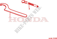 TOOLS Frame 125 honda-motorcycle CR 2001 F__2300
