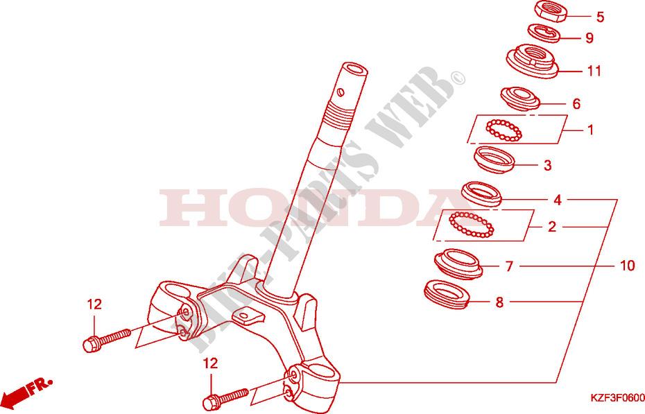 Steering Damper For Honda Innova 125 2010   Honda