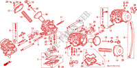 CARBURETOR (COMPONENT PARTS) Engine 1100 honda-motorcycle PAN-EUROPEAN 1995 E__2101