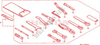 TOOLS Frame 1100 honda-motorcycle PAN-EUROPEAN 1998 F__3600