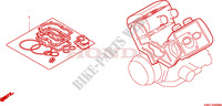 GASKET KIT A Honda motorcycle microfiche diagram ST1100AX 1999 PAN EUROPEAN ST 1100 ABS