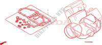 GASKET KIT B Honda motorcycle microfiche diagram ST1100AX 1999 PAN EUROPEAN ST 1100 ABS