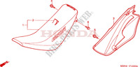 SEAT/R. SIDE COVER Frame 650 honda-motorcycle XR 2001 F__1500