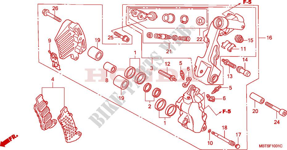 New Ford Fiesta MK5 1.3i Genuine Mintex Rear Brake Shoe Set