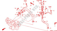 THERMOSTAT Engine 600 honda-motorcycle CBR 2002 E__1700