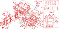 CRANKCASE for Honda CB 600 S HORNET 34HP 2002