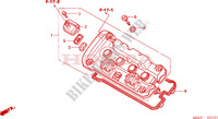 CYLINDER HEAD COVER (CB600F3/4/5/6) for Honda CB 600 F HORNET 2003